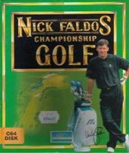 Nick Faldo's Championship Golf per Commodore 64