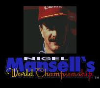 Nigel Mansell's World Championship per Commodore 64