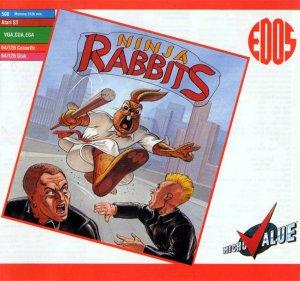 Ninja Rabbits per Commodore 64
