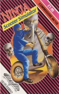 Ninja Scooter Simulator per Commodore 64