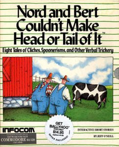 Nord and Bert Couldn't Make Head or Tail of It per Commodore 64