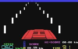 Night Driver per Commodore 64