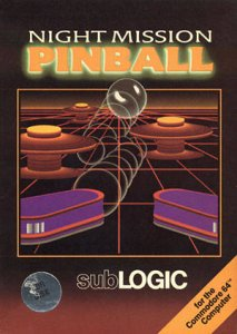 Night Mission Pinball per Commodore 64