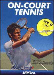 On-Court Tennis per Commodore 64