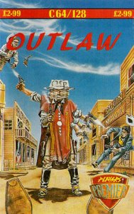 Outlaw per Commodore 64