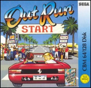 Out Run per Commodore 64