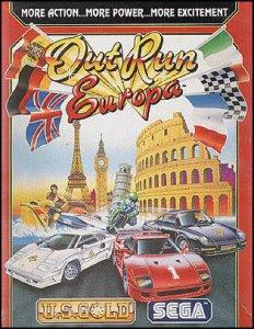OutRun Europa per Commodore 64