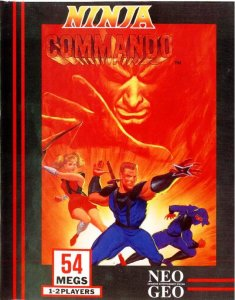 Ninja Commando per Neo Geo