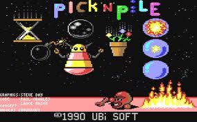 Pick'n'Pile per Commodore 64