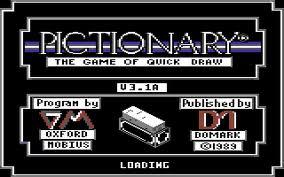 Pictionary per Commodore 64