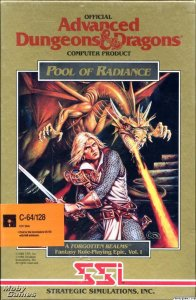 Pool of Radiance per Commodore 64