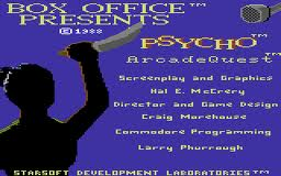 Psycho: Arcade Quest per Commodore 64