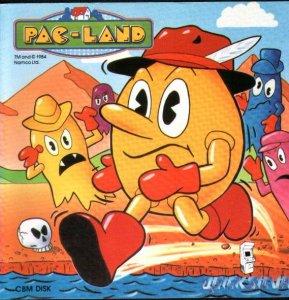 Pac-Land per Commodore 64