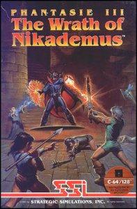 Phantasie III - The Wrath of Nickademus per Commodore 64