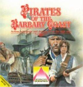Pirates of the Barbary Coast per Commodore 64
