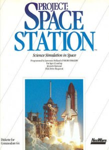 Project Space Station per Commodore 64