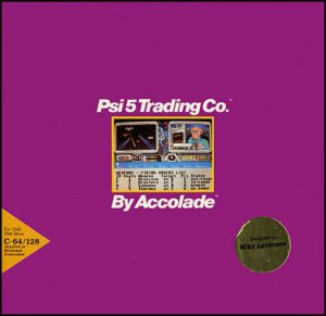 Psi-5 Trading Company per Commodore 64