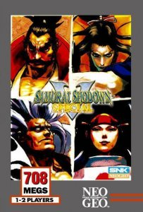 Samurai Shodown V Special per Neo Geo