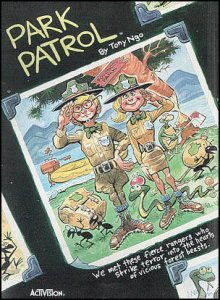 Park Patrol per Commodore 64