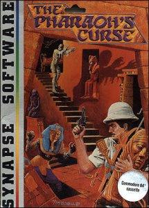 Pharaoh's Curse per Commodore 64