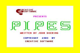 Pipes per Commodore 64