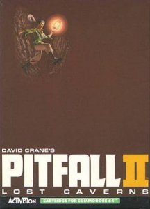 Pitfall II: Lost Caverns per Commodore 64