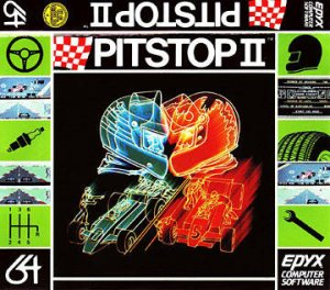 Pitstop II per Commodore 64