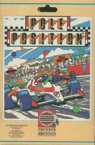 Pole Position per Commodore 64