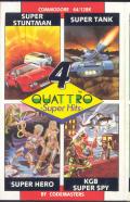 Quattro Super Hits per Commodore 64