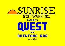 Quest For Quintana Roo per Commodore 64