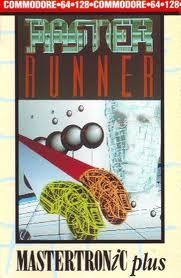 Raster Runner per Commodore 64