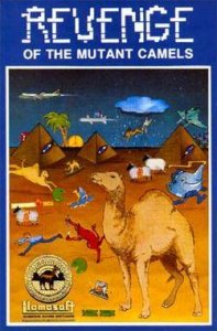 Revenge of the Mutant Camels per Commodore 64