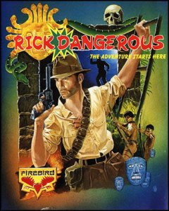 Rick Dangerous per Commodore 64