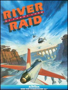 River Raid per Commodore 64
