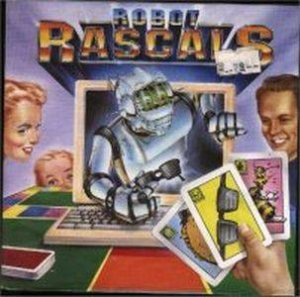 Robot Rascals: A Zany Scavenger Hunt per Commodore 64