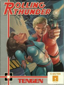Rolling Thunder per Commodore 64