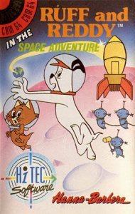 Ruff and Reddy in the Space Adventure per Commodore 64