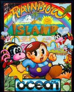 Rainbow Islands per Commodore 64