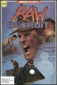 Raw Recruit per Commodore 64