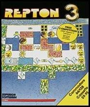 Repton 3 per Commodore 64