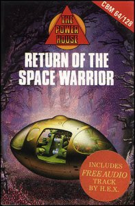 Return of the Space Warriors per Commodore 64