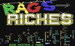 Rags to Riches per Commodore 64