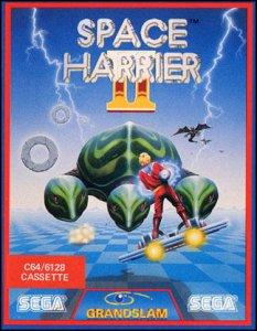 Space Harrier II per Commodore 64