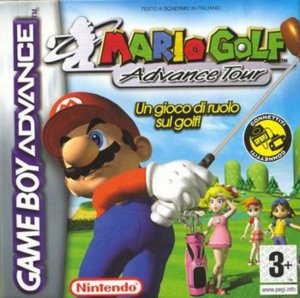 Mario Golf Advance Tour per Game Boy Advance