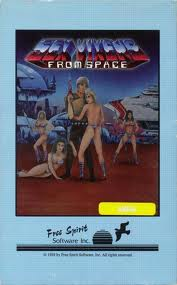Sex Vixens From Space per Commodore 64