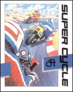Super Cycle per Commodore 64