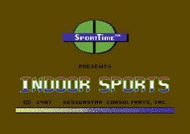 Superstar Indoor Sports per Commodore 64