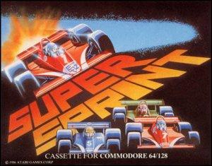Super Sprint per Commodore 64