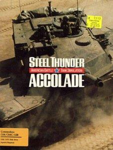 Steel Thunder per Commodore 64
