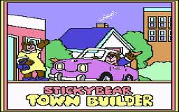 Stickybear Town Builder per Commodore 64